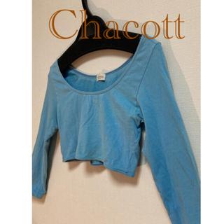 CHACOTT - チャコット Chacott ⭐︎ショートトップス  レオタード