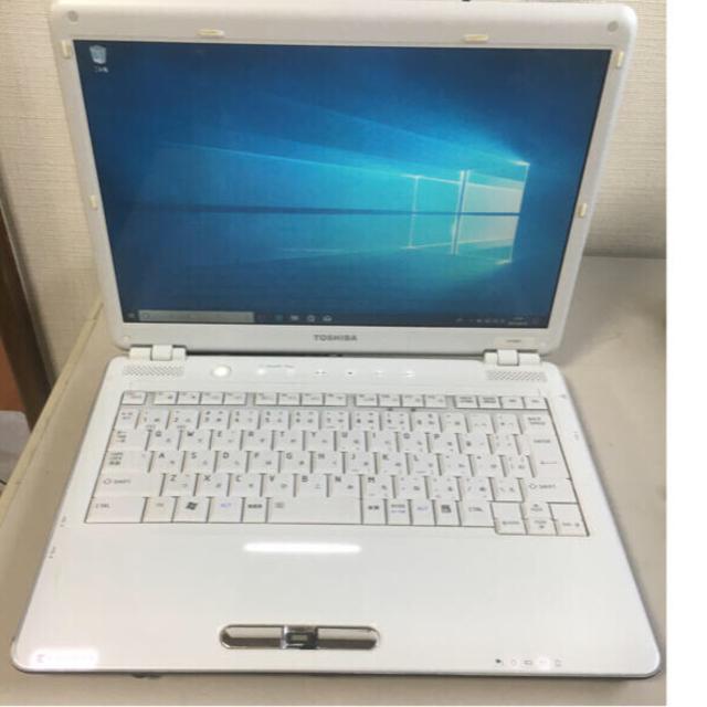 東芝(トウシバ)の東芝製 ノートパソコン windows10 スマホ/家電/カメラのPC/タブレット(ノートPC)の商品写真