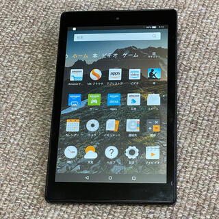 ANDROID - Amazonタブレット Fire HD8 (第7世代)