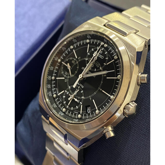 SEIKO(セイコー)の希少 新品・未使用 セイコー 7T62 0AA0 クロノグラフ・アラーム 箱/保 メンズの時計(腕時計(アナログ))の商品写真