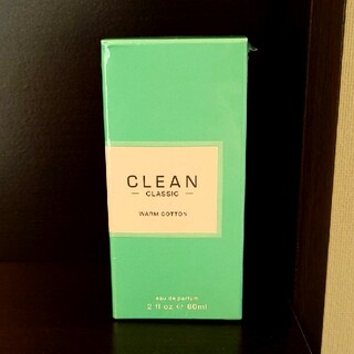 クリーン(CLEAN)のクリーン クラシック ウォームコットン オードパルファム(ユニセックス)