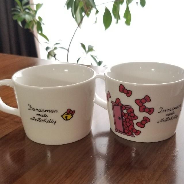 Sanrioとファミリーマート コラボ♥️マグカップ 2個セット インテリア/住まい/日用品のキッチン/食器(グラス/カップ)の商品写真