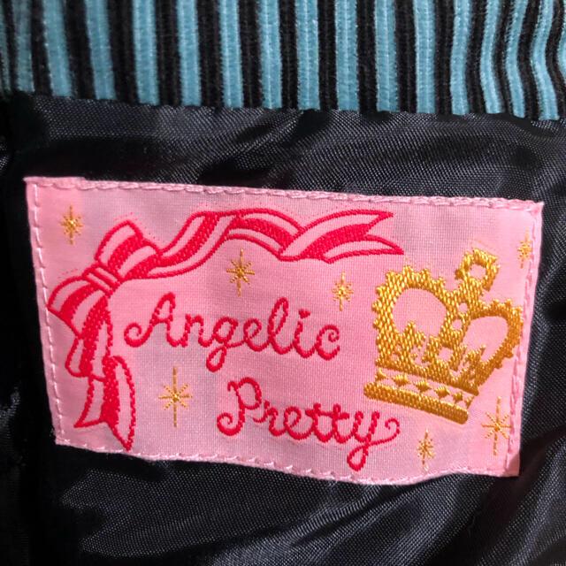 Angelic Pretty(アンジェリックプリティー)のangelic pretty ベロアストライプ ジャンパースカート レディースのワンピース(ひざ丈ワンピース)の商品写真