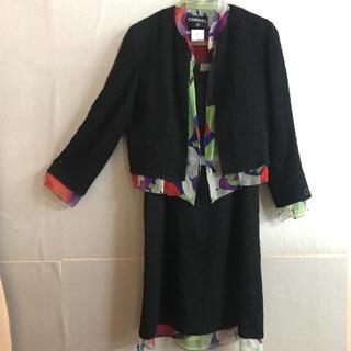 シャネル(CHANEL)のシャネル スーツ ジャケット、スカート、キャミソール3点セット(スーツ)