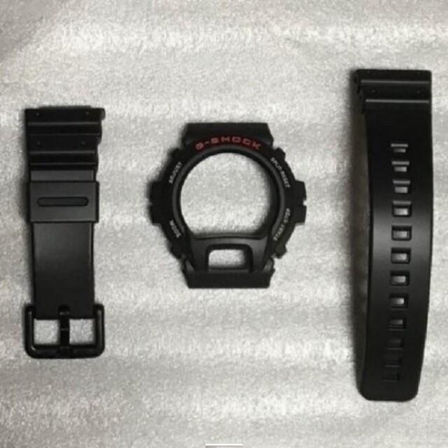 CASIO(カシオ)の新品未使用 カシオ Gショック DW-6900 純正 ベゼル ベルト メンズの時計(ラバーベルト)の商品写真