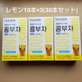 ティーゼン コンブ茶 (30本セット)レモン