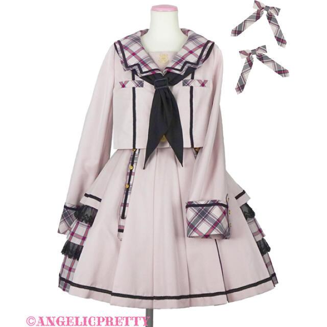 Angelic Pretty(アンジェリックプリティー)のangelic pretty Bunny College Academy Set レディースのジャケット/アウター(その他)の商品写真