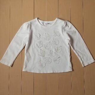 ベビーギャップ(babyGAP)のBABYGAP 羽根付き ロンT 長袖シャツ 80cm(シャツ/カットソー)