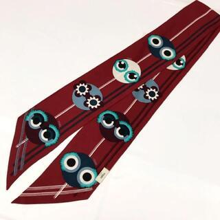 FENDI - 希少 フェンディ イタリア製 高級シルク ラッピー モンスター スカーフ