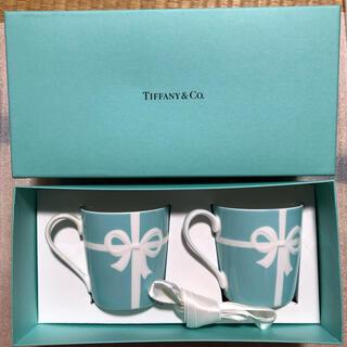 ティファニー(Tiffany & Co.)のadg様専用【新品】Tiffany ブルーリボン ペアマグカップ(グラス/カップ)