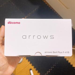 フジツウ(富士通)のarrows Be 4Plus F-41B(スマートフォン本体)