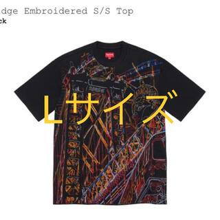 Supreme - Supreme Bridge Embroidered s/s Top Lサイズ