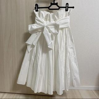 フレイアイディー(FRAY I.D)のフレイアイディー スカート 未使用(ひざ丈スカート)