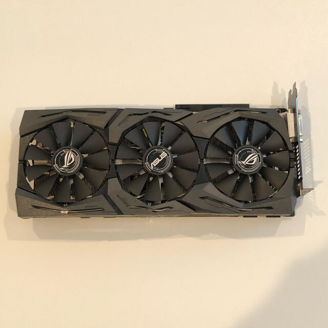 ASUS R.O.G. STRIX NVIDIA GeForce GTX1080 スマホ/家電/カメラのPC/タブレット(PCパーツ)の商品写真