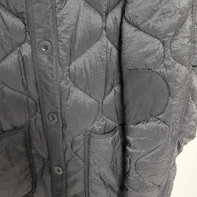 HYKE(ハイク)のour legacy アワー・レガシー キルティング ライナージャケット 黒 メンズのジャケット/アウター(ブルゾン)の商品写真