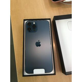 アップル(Apple)の外装パーフェクトiPhone12 pro 256GB パシフィックブルー (スマートフォン本体)