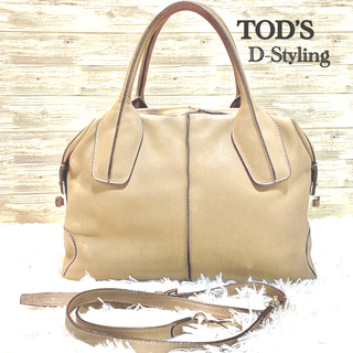 TOD'S - トッズ ハンドバッグ 2way D-styling TOD'S