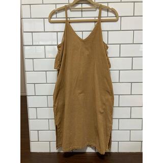 ブランシェス(Branshes)のブランシェス コーデュロイ スカート ワンピース  150サイズ 女の子 子供服(ワンピース)