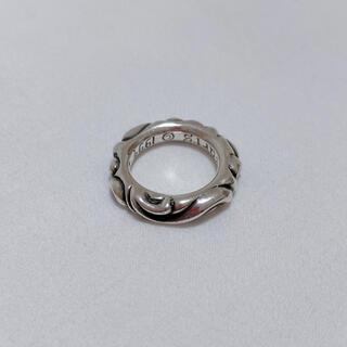 クロムハーツ(Chrome Hearts)のスクロールバンドリング(リング(指輪))