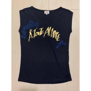 ランバンオンブルー(LANVIN en Bleu)のLANVIN en Blew(ランバンオンブルー)Tシャツ カットソー トップス(Tシャツ(半袖/袖なし))