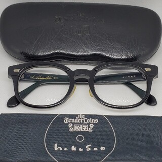 テンダーロイン(TENDERLOIN)の白山眼鏡店 TENDERLOIN テンダーロインメガネ  T-JERRY黒銀 (サングラス/メガネ)
