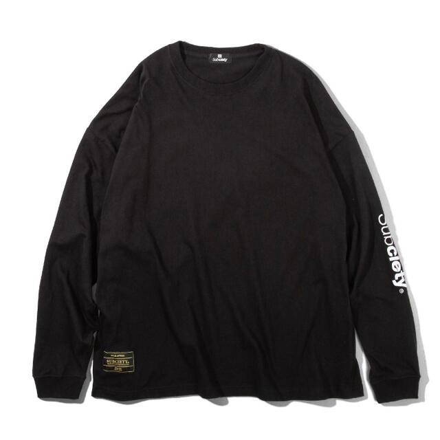 Subciety(サブサエティ)のSubciety(Tシャツ/カットソー) サイズXL ブラック メンズのトップス(Tシャツ/カットソー(半袖/袖なし))の商品写真