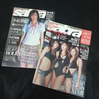 ショウガクカン(小学館)のsabra 2005 009  sabra 2006 005 セット(アート/エンタメ/ホビー)