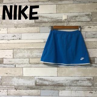 NIKE - ナイキ ワンポイントロゴ テニス スコート バックポケット バックファスナー L