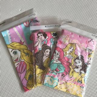 Disney - 【未使用】プリンセス ランチクロス&ランチ巾着&コップ袋