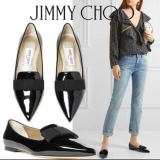 JIMMY CHOO - JIMMY CHOO  ポインテッドローファー
