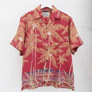 WACKO MARIA - WACKOMARIA MINEDENIM Palmtree Hawaiian