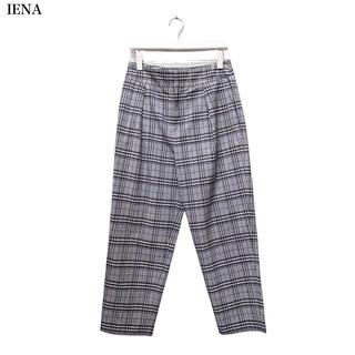 IENA - 【IENA】チェックパンツ イエナ