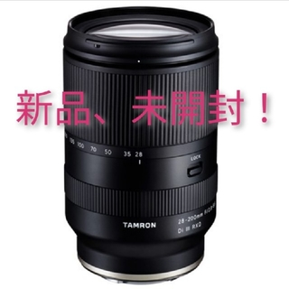 TAMRON - TAMRON 28-200mm F/2.8-5.6 Eマウント タムロン