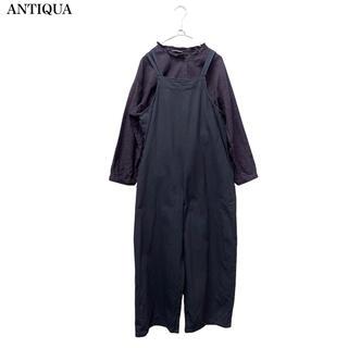 アンティカ(antiqua)の【ANTIQUA】オールインワン サロペット  アンティカ(サロペット/オーバーオール)