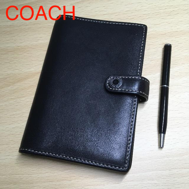 COACH(コーチ)のCOACH 本革 手帳カバー レディースのレディース その他(その他)の商品写真
