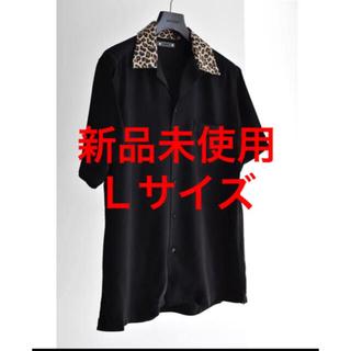 【新品未使用】MINEDENIM オープンカラーシャツ サイズ3 L レオパード