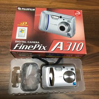 フジフイルム(富士フイルム)のFUJIFILM Finepix A310 デジカメ(コンパクトデジタルカメラ)