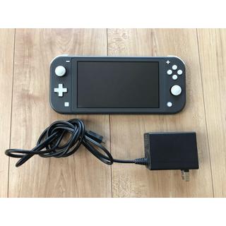Nintendo Switch - Nintendo Switch スウィッチ LITE グレー ジャンク品