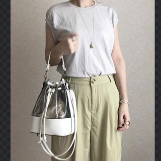ムジルシリョウヒン(MUJI (無印良品))の無印 スリーブレスTシャツ M   ユニクロ  GU H&M  (Tシャツ(半袖/袖なし))