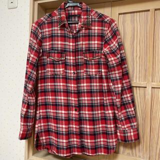 ヘザー(heather)のHeather☆チェックシャツ(シャツ/ブラウス(長袖/七分))