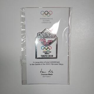 オリンピック ボランティア ピンバッジ