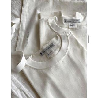 ロンハーマン(Ron Herman)のunion launch Crew Neck Pack Tee ブラック XS(Tシャツ(半袖/袖なし))