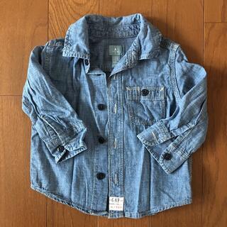 ベビーギャップ(babyGAP)の長袖シャツ 80(シャツ/カットソー)