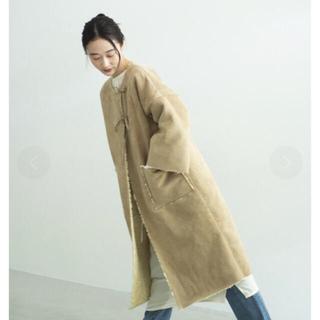 新品 ONEME Reversible Mouton Coat(ロングコート)