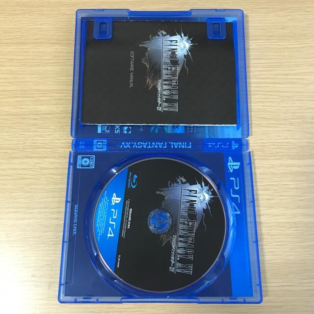 ファイナルファンタジーXV PS4 エンタメ/ホビーのゲームソフト/ゲーム機本体(家庭用ゲームソフト)の商品写真