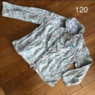 ラグマート(RAG MART)の【サイズ120】ラグマートの花柄トップス、長袖(Tシャツ/カットソー)