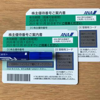 ANA(全日本空輸) - ANA/全日空株主優待券2枚