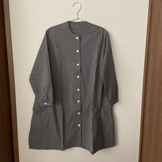 ネストローブ(nest Robe)のオローネ ノーカラーロングシャツ(シャツ/ブラウス(長袖/七分))