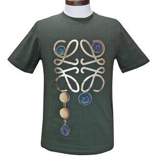 ロエベ(LOEWE)のロエベ 半袖Tシャツ アナグラムブローチプリント Tシャツ(Tシャツ(半袖/袖なし))
