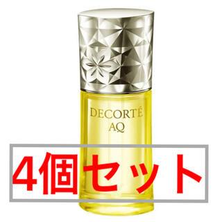 コスメデコルテ(COSME DECORTE)のコスメデコルテ AQオイル インフュージョン 40ml 4個セット(美容液)